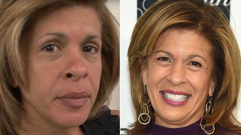 News Anchors Who Are Unrecognizable Without Makeup Hoda Kotb News Anchor Katie Couric