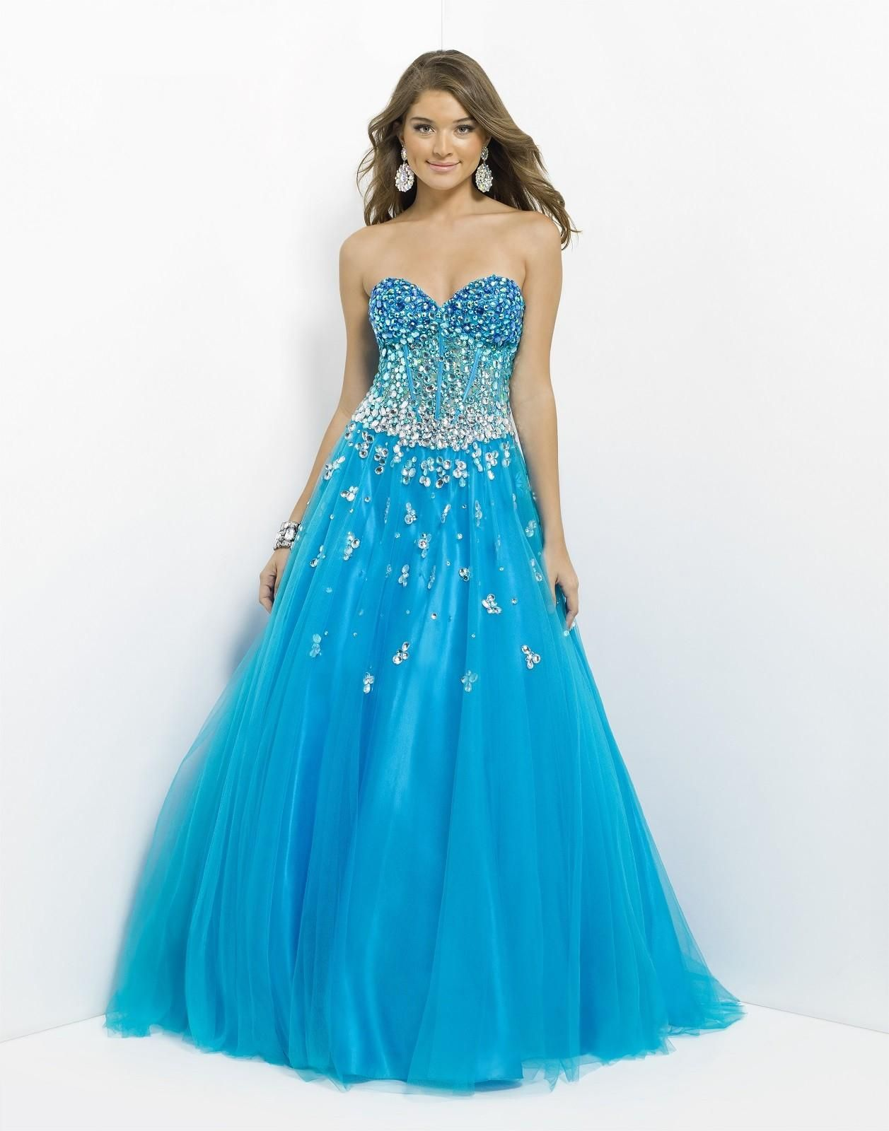 Prom dress prom dresses aquamarine blue green pinterest