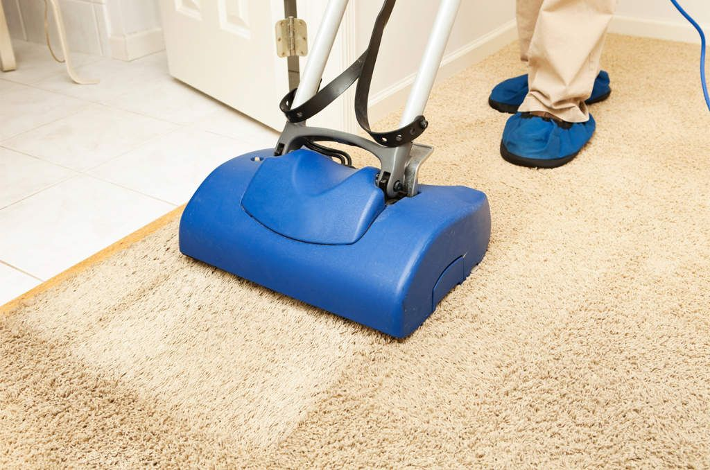 How long does it take for carpet to dry after professional cleaning