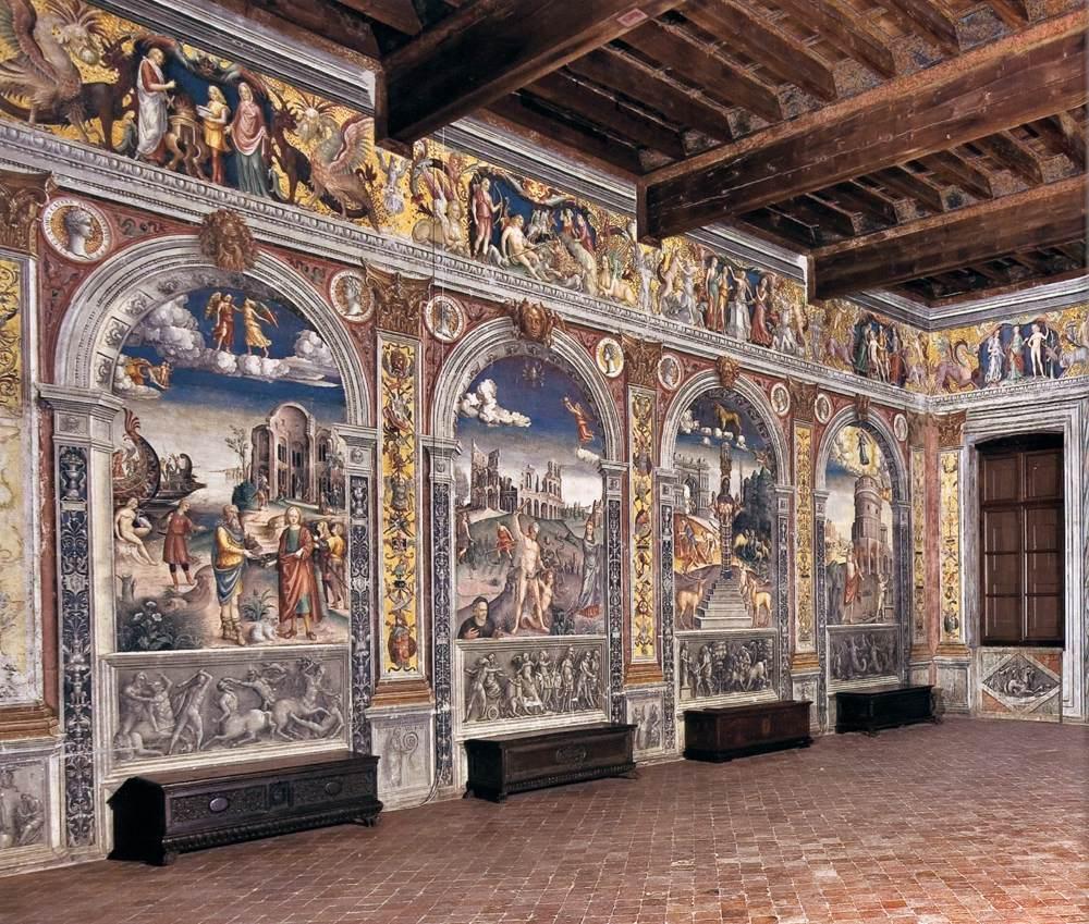 1515-20, Fresco Palazzo d'Arco, Mantua