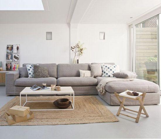 Hoekbank voor de woonkamer | Wooninspiratie | for the home ...