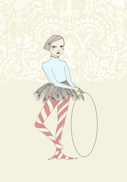 Harlequin Girl by Irena Sophia