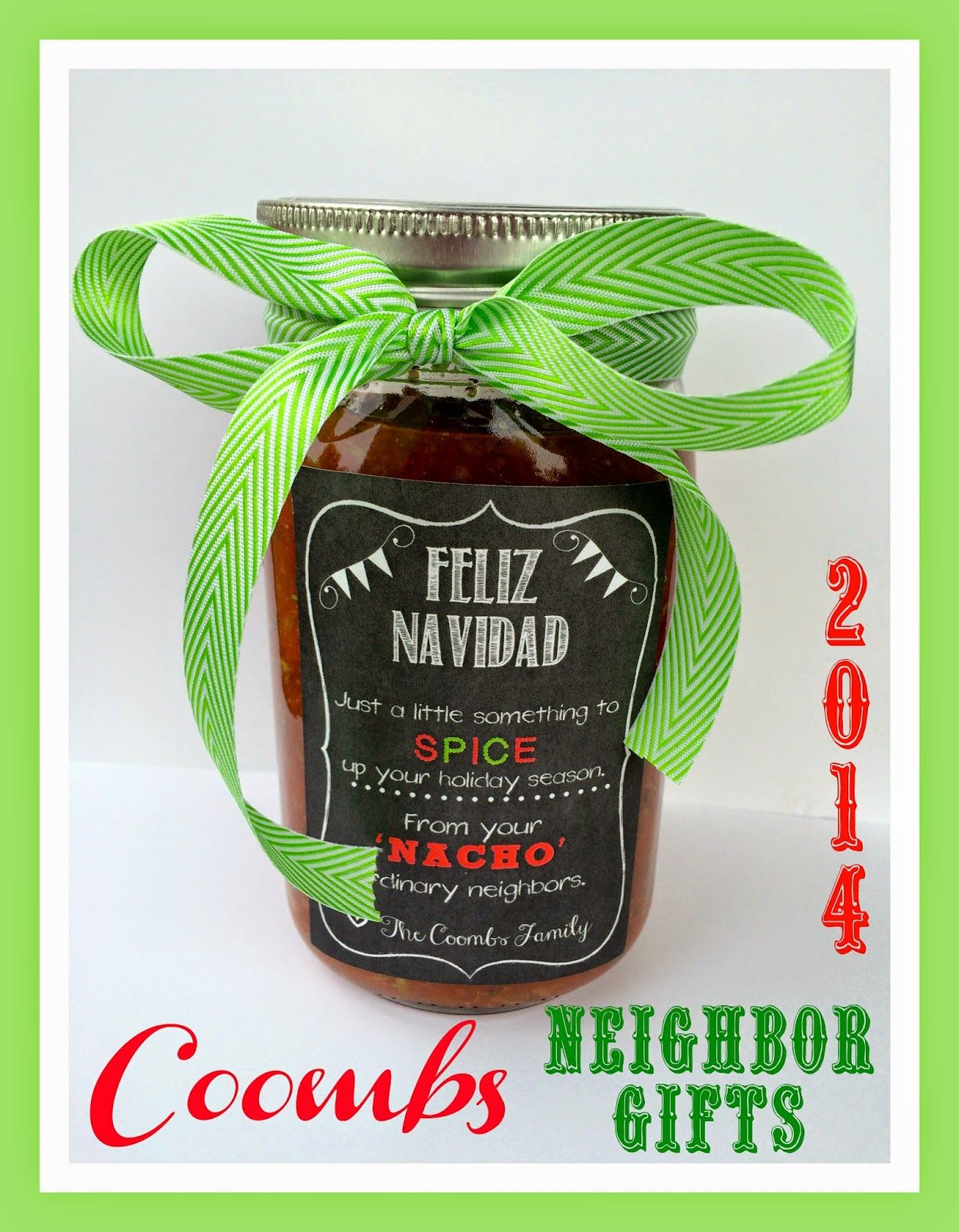 Coombs Family Christmas Neighbor Gifts 2014. From Marci Coombs Blog ...