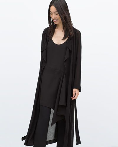 BOUGHT - Image 2 of STUDIO TRENCH COAT from Zara