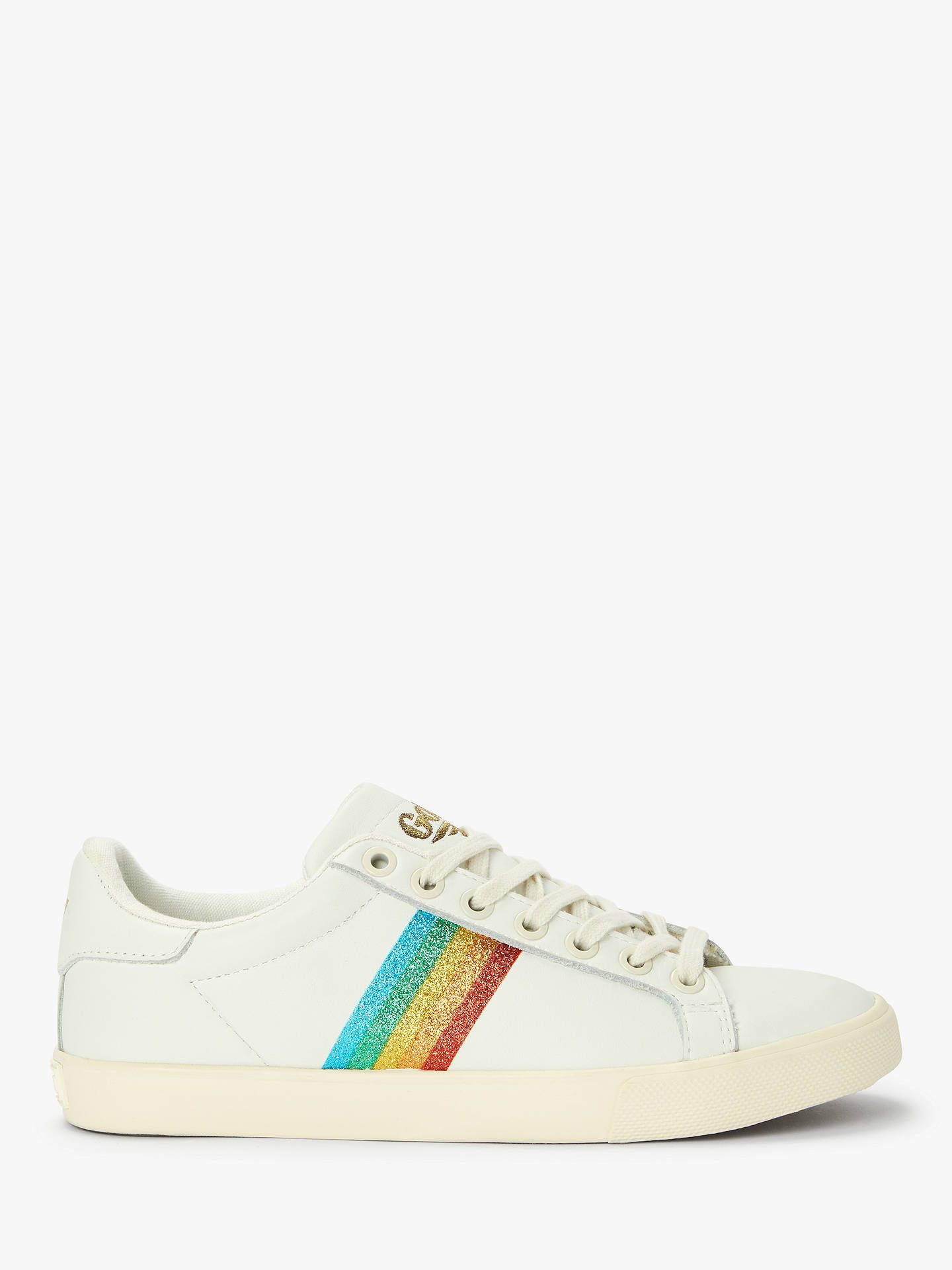Gola Orchid Rainbow Low Top Trainers
