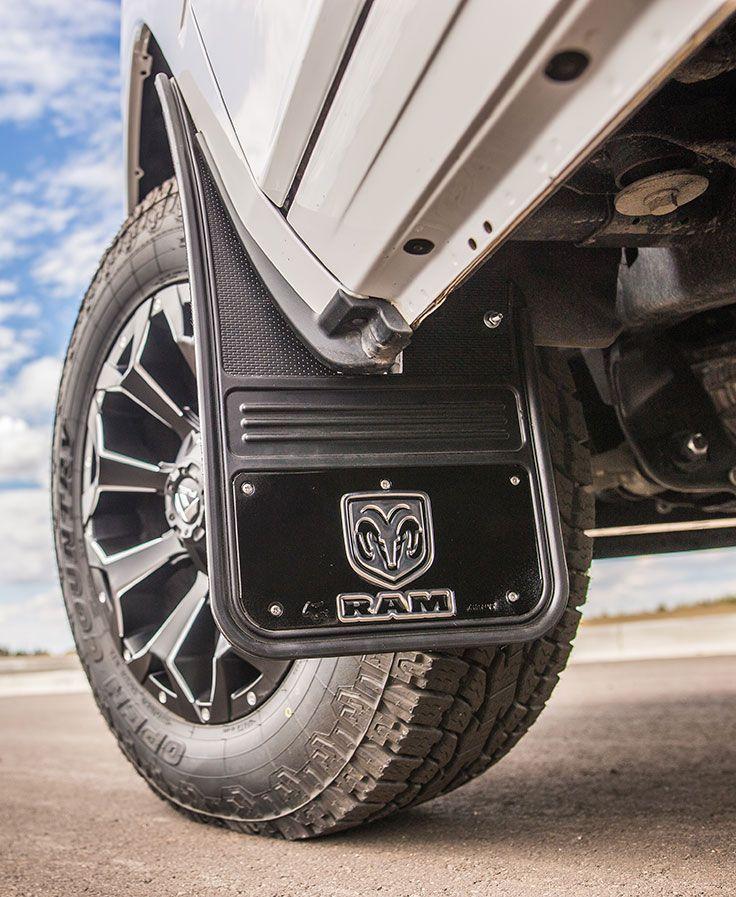 2009 2018 Ram Logo With Black Wrap Gatorback Mud Flap Set Gb1223c09rv Full Gb1223rv Full Ram Trucks Ram Trucks Accessories Truck Accessories