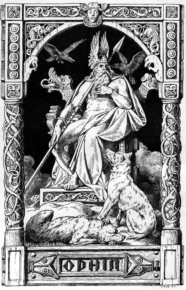 odino è la divinità principale nella mitologia nordica