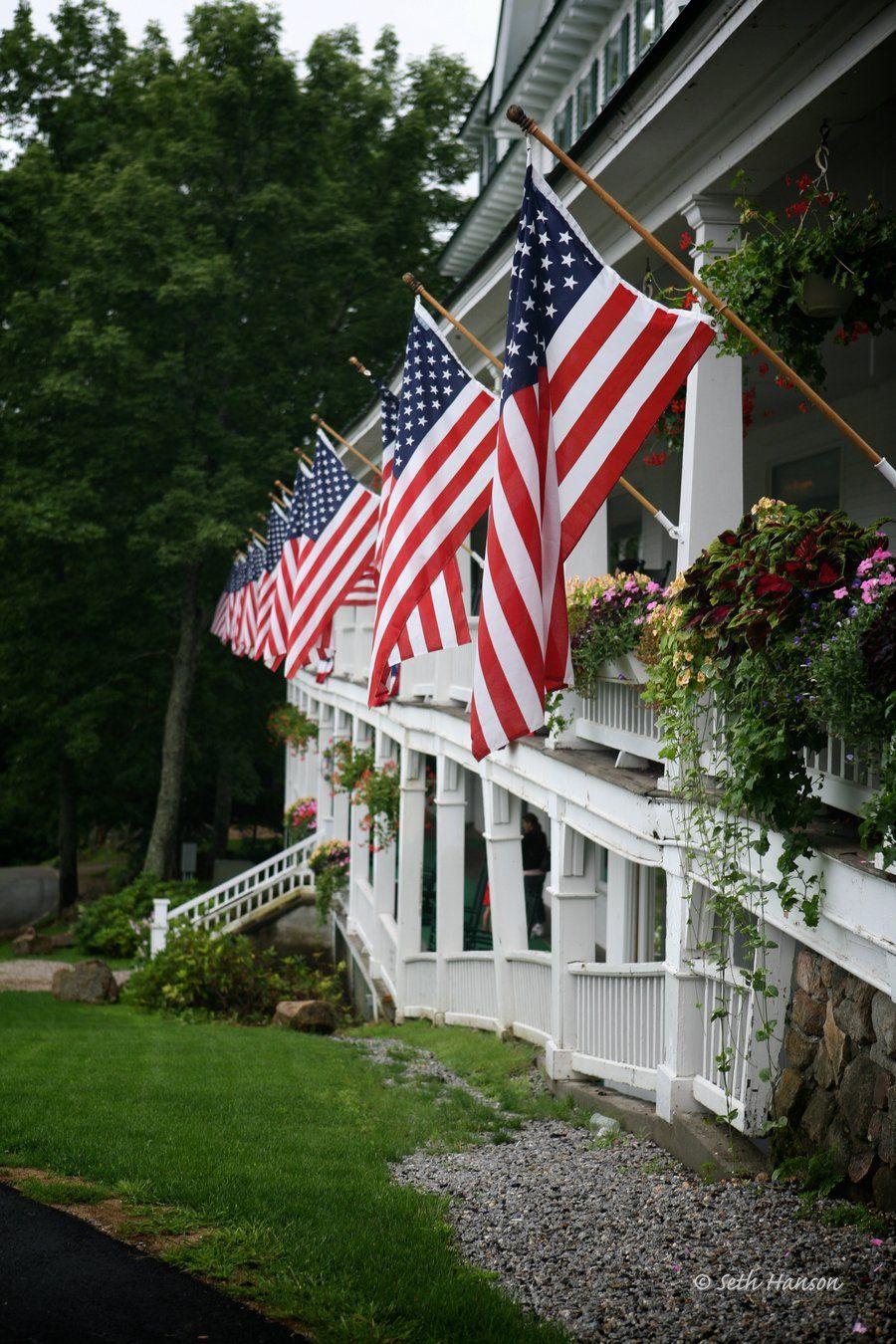 Grand Porch By Smhanson On Deviantart I Love America God Bless America Patriotic Holidays