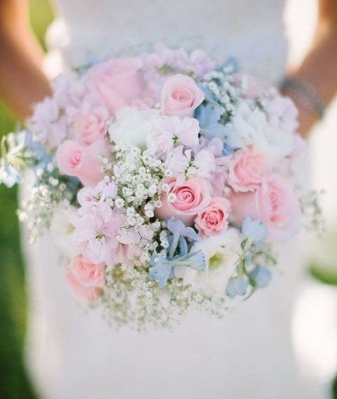 Bouquet Sposa Rosa Quarzo.50 Enchanting Pastel Wedding Bouquets Matrimonio Floreale Idee