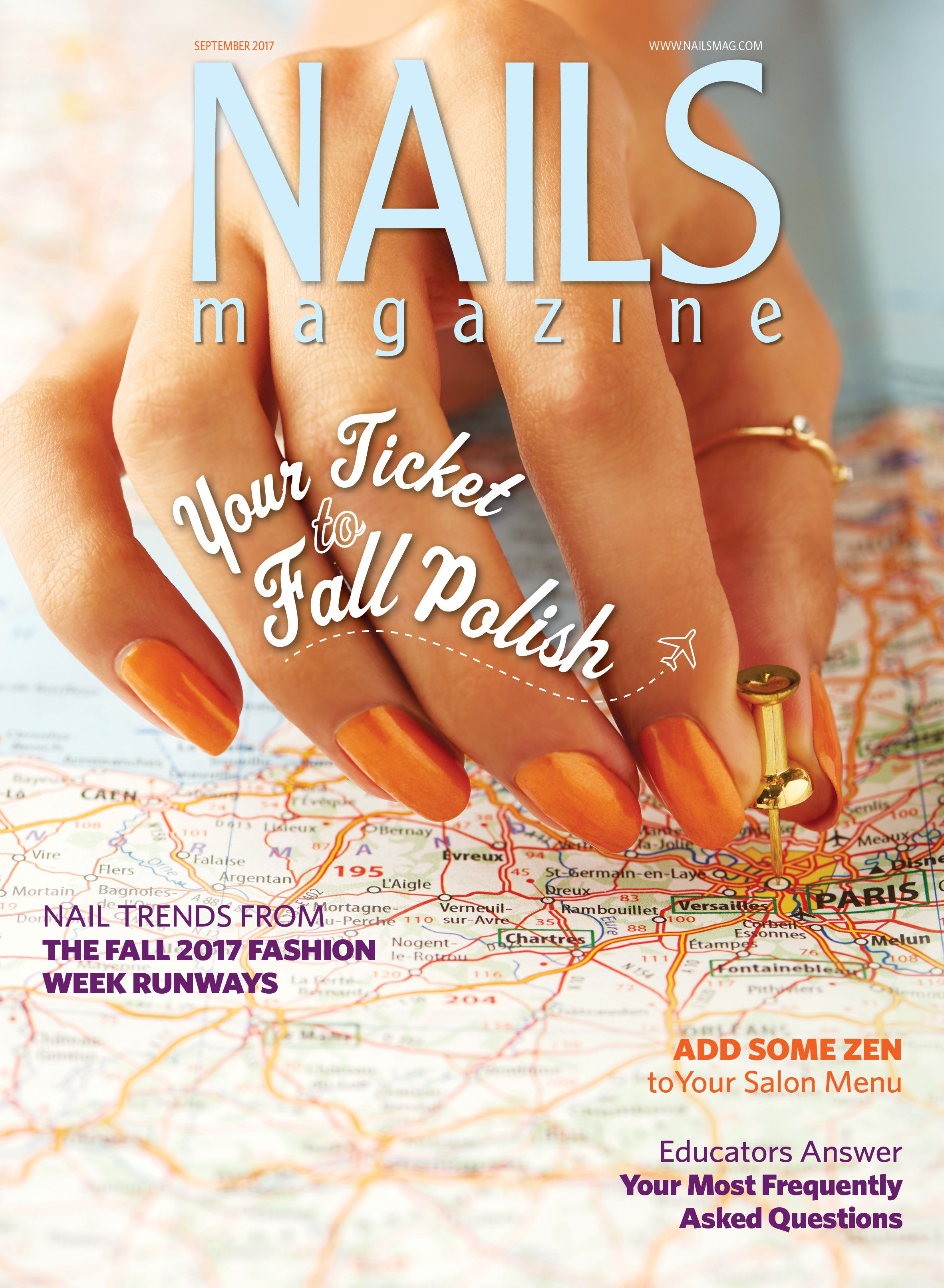 Nails Magazine September 2017 Issue Nail Tech
