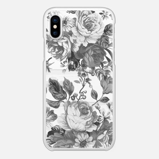 Casetify iPhone X Snap Case - fleur by Li Zamperini Art