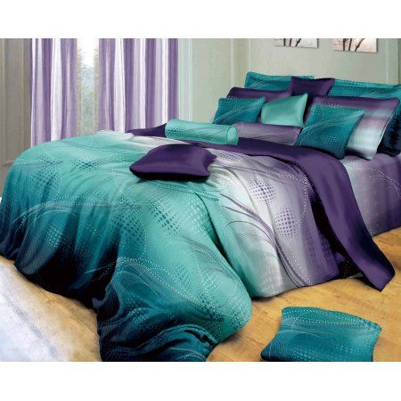 Home In 2019 Bedding 100 Cotton Duvet Covers Purple