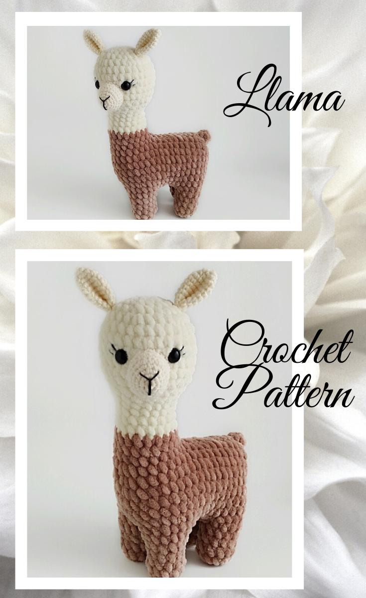 LLama crochet pattern/crochet Llama plush pattern/Crochet | Etsy