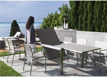 Table De Repas Extensible 240 360 Patch Par Talenti Chez Www Ksl Living Fr Table Salle A Manger Table Haute Modele Architecture