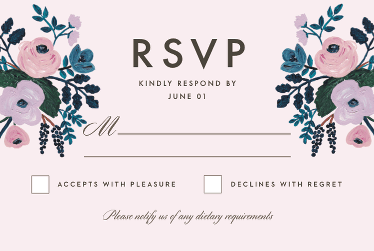 What Does Rsvp Actually Mean Bridal Shower Pinterest Rsvp