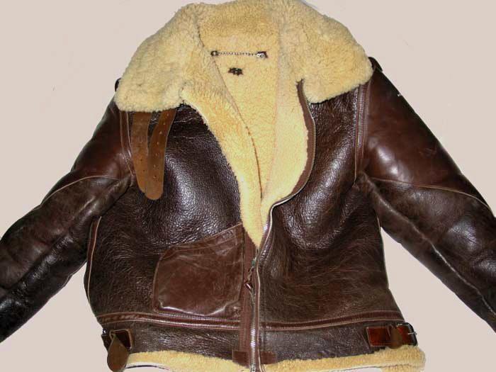 B-3 Sheepskin Flight Jacket WWII | Manly man stuff | Pinterest