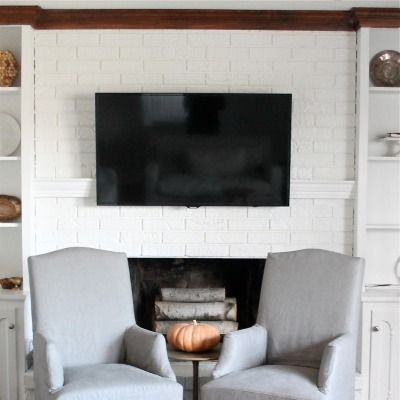 15 Sneaky Ways To Hide Household Eyesores Hide Tv Cables Hide Cables Hidden Tv