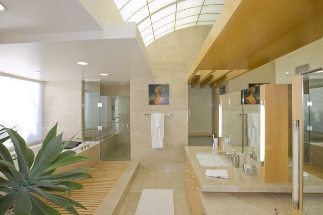 Spectacular bathroom!!!    Porter residence Freshome (18)