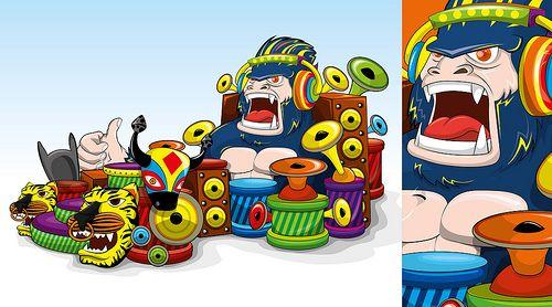 Sonido Bestial - Diseño Carroza Carnaval de Barranquilla 2013