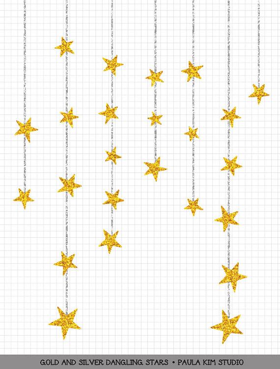 dangling gold star clipart gold glitter clip art commercial use rh pinterest com glitter clip art images of butterflies glitter clipart free