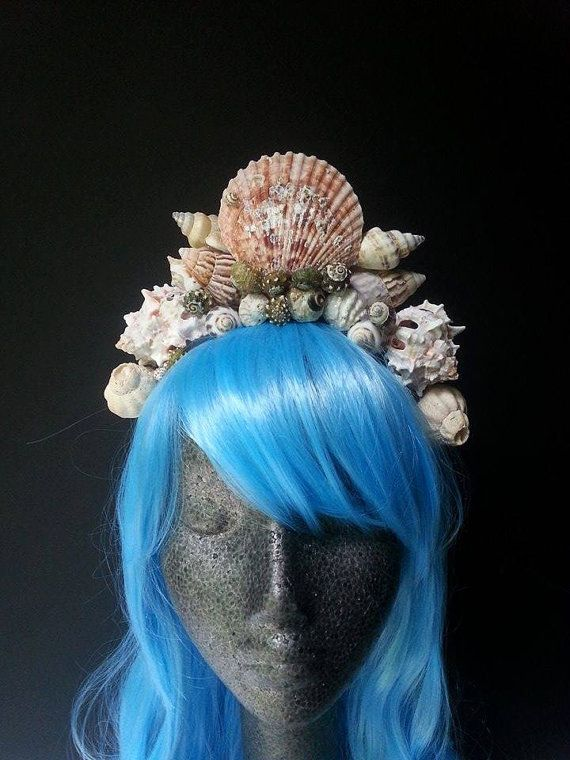 Mermaid headpiece mermaid crown mermaid by MermaidSanctuary