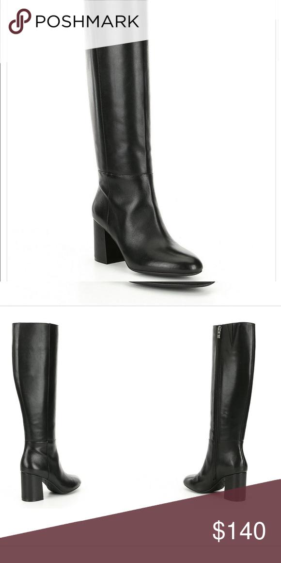 Antonio Melani leather boots flash sale