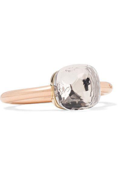 Nudo Classic 18-karat Rose And White Gold Prasiolite Ring - Rose gold POMELLATO XWoQGpX