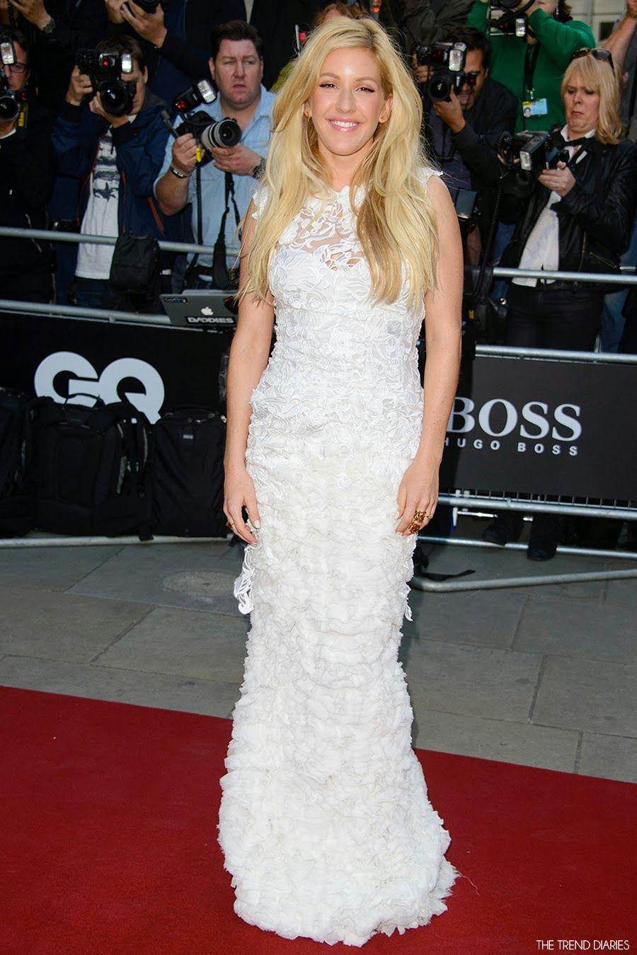 Ellie Goulding Wearing Ermanno Scervino - British GQ Men