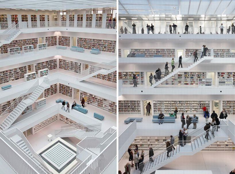 Architects Stuttgart stuttgart library stuttgart architects and architecture