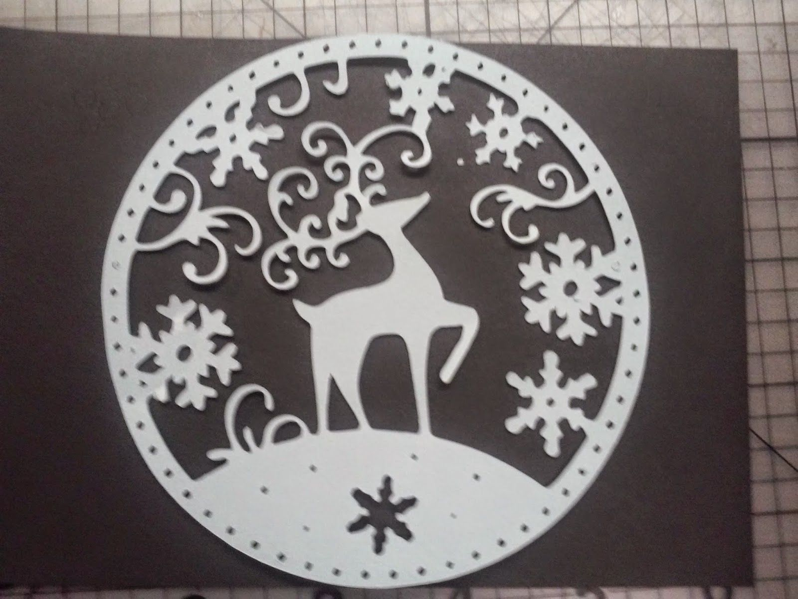 Paper This And That Second Christmas Card and Free SVG