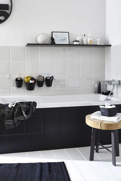 Dipingere piastrelle bagno / bagno piccolo / Rinnova il bagno senza ...