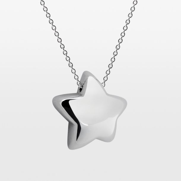 Celeste star pendant medium 78 wide sterling silver on 15 celeste star pendant medium 78 wide sterling silver on 15 mozeypictures Image collections