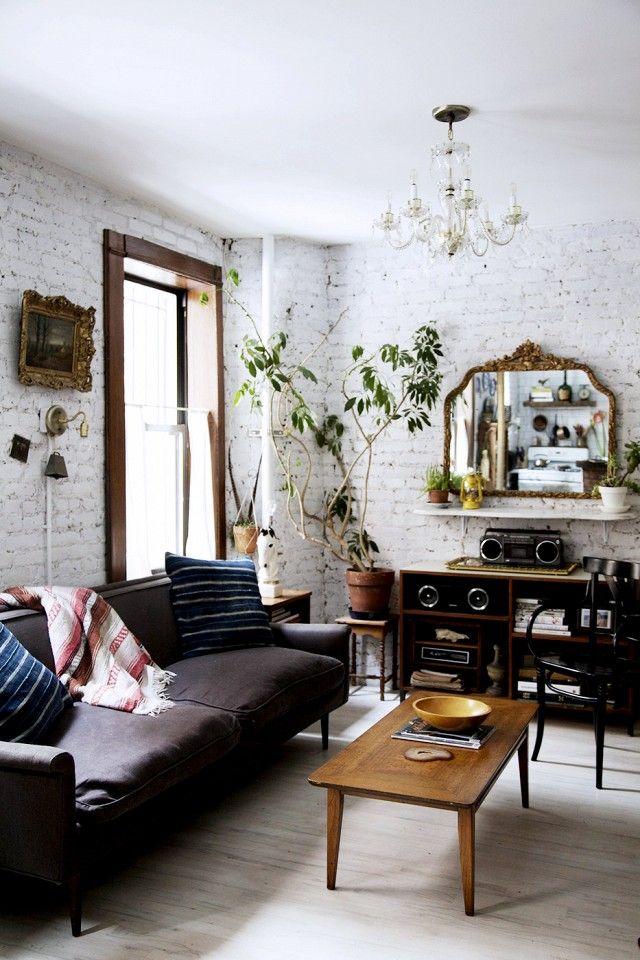 Nackte wahrheit die steinmauer auf dem blog pinterest - Steinmauer wohnzimmer ...