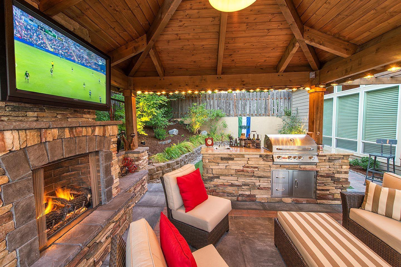 Elegant Staycation Landscape Design In Camas, Washington, By Paradise Restored  Landscaping U0026 Exterior Design In