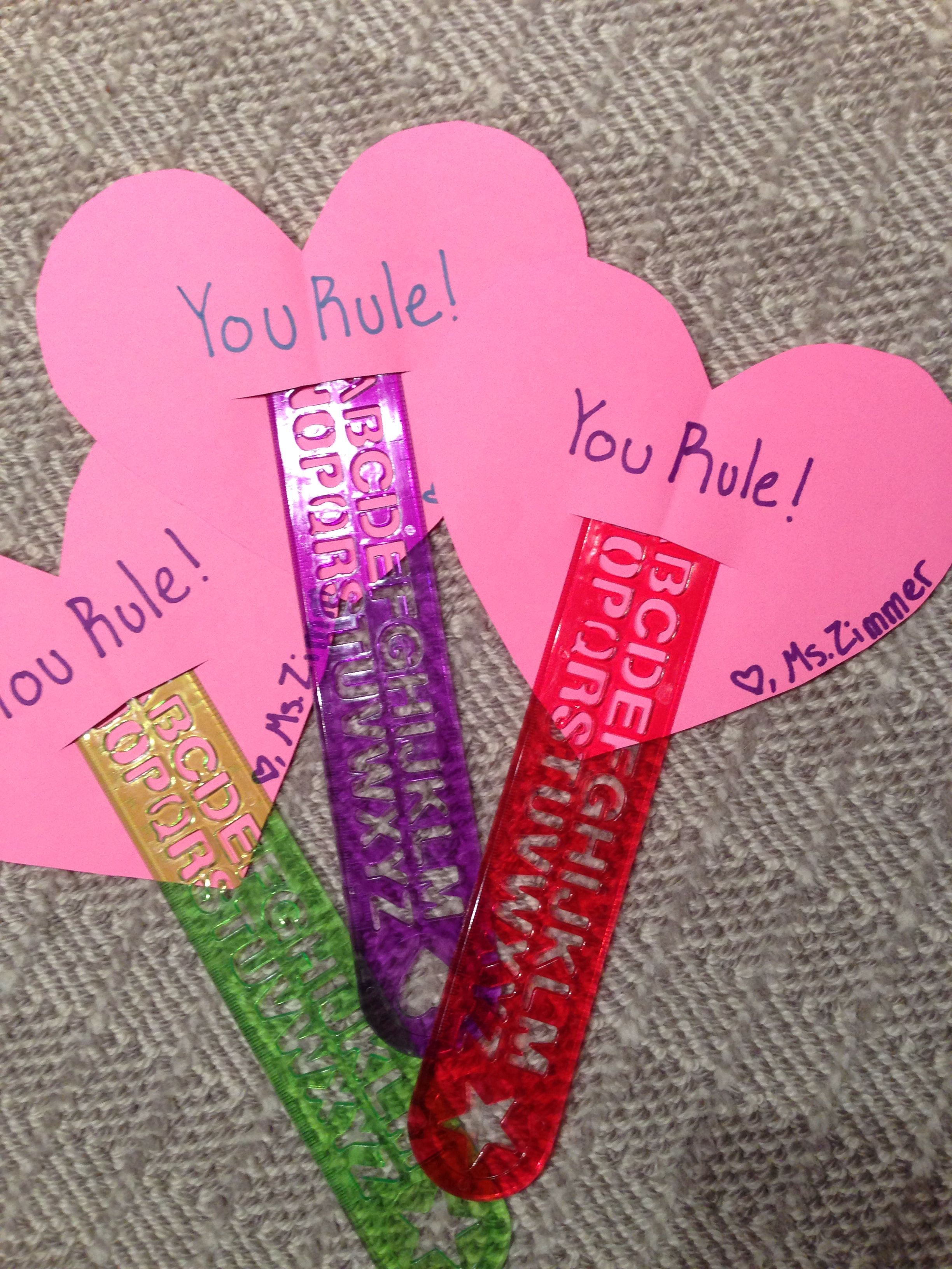 Valentines Ts For Elementary Students From Teacher