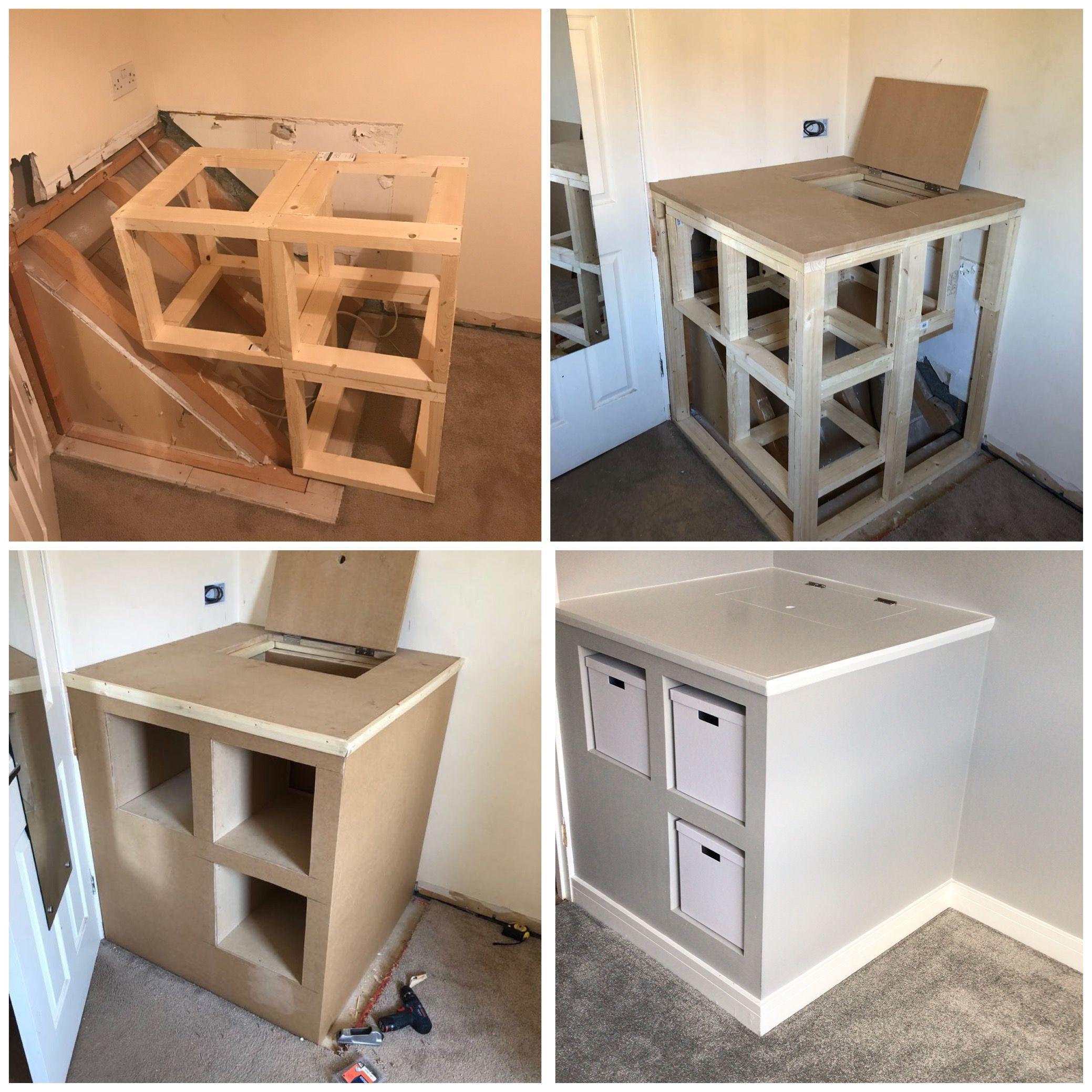 Old Stair Box Ideas Stair Box Ideas Box Room Beds Box Room Bedroom Ideas Room storage ideas box