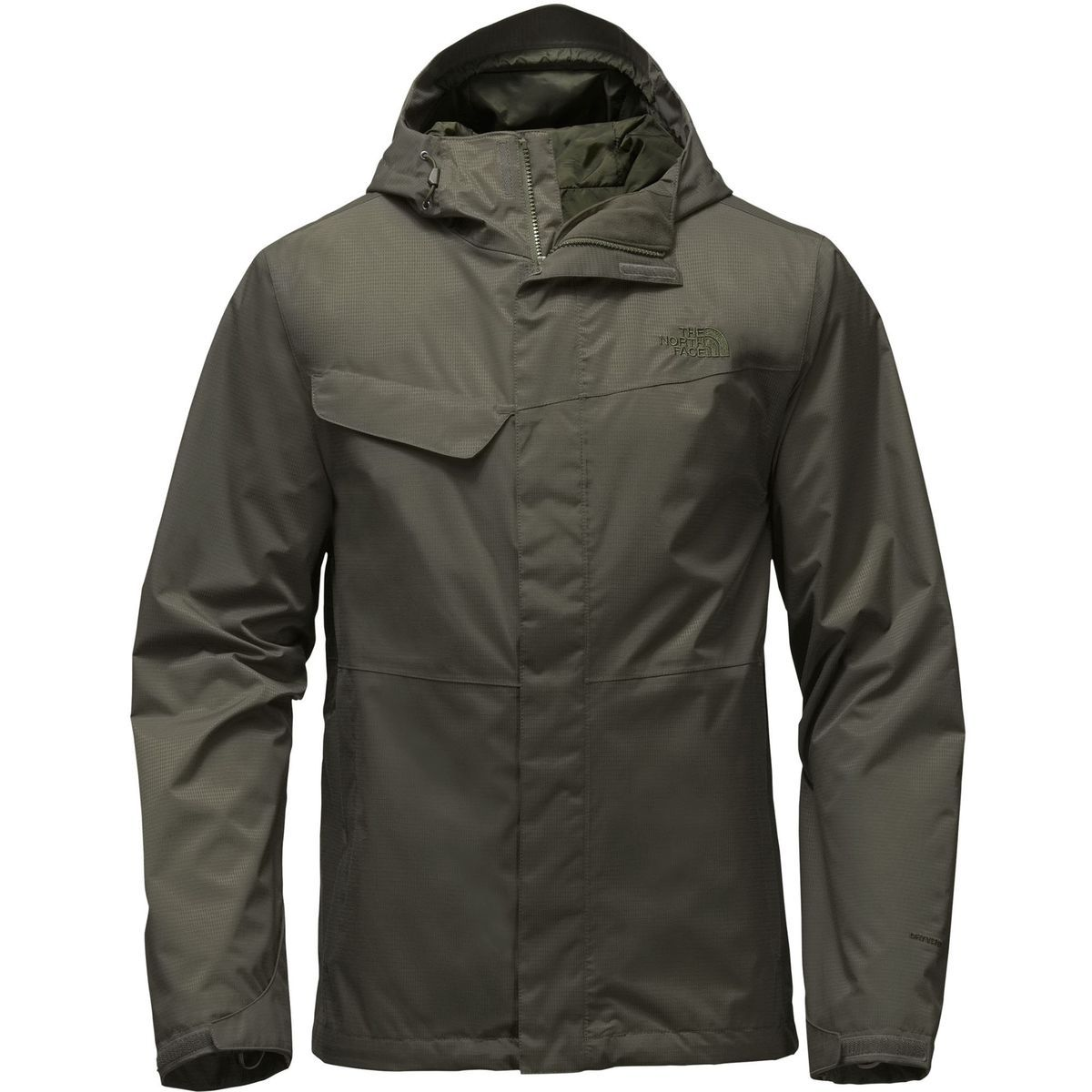 a5e6a6fca The North Face Beswick 3-in-1 Triclimate Jacket Climbing Ivy Green ...