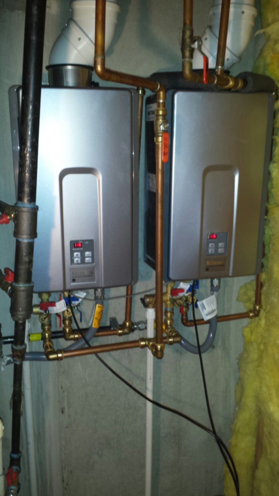 Rinnai Tankless Water Heater Installation Mechanical Insulation How To Wire