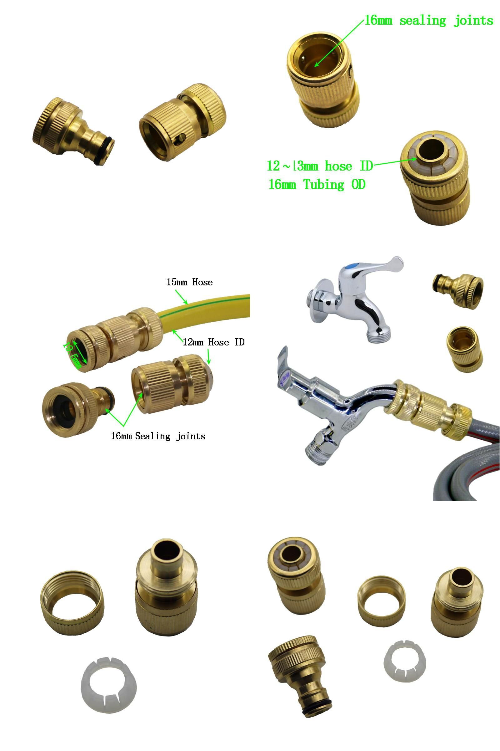 Visit To Buy 5 Set Brass Water Faucet Connection Fitting Seal Hose Fittings Industrial Washing Mac Water Faucet Industrial Washing Machines Irrigation System