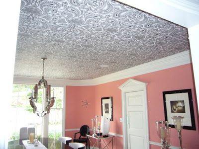 Walnut Wallpaper Paper Ideas For You Decor8 Wallpaper Ceiling Wallpaper Interior Design Ceiling Design