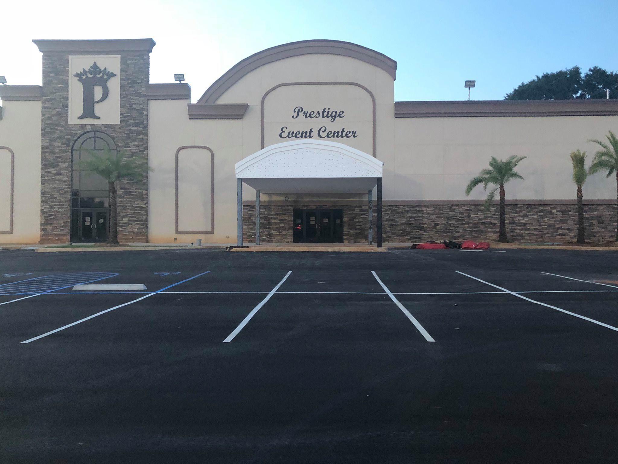The Prestige event center located in Mobile, AL. We offer