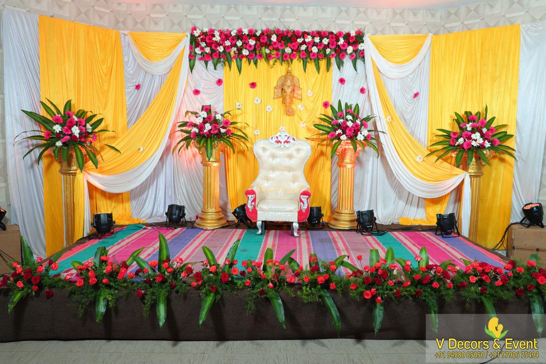 Pin By Prathibha Hiremath On Indian Baby Shower Decorations Wedding Design Decoration Personalized Wedding Decor Wedding Stage Decorations