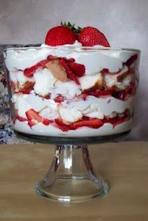 NO SCRATCH COOKING HERE: COOL SUMMER DESSERTS, STRAWBERRY PUNCH BOWL CAKE