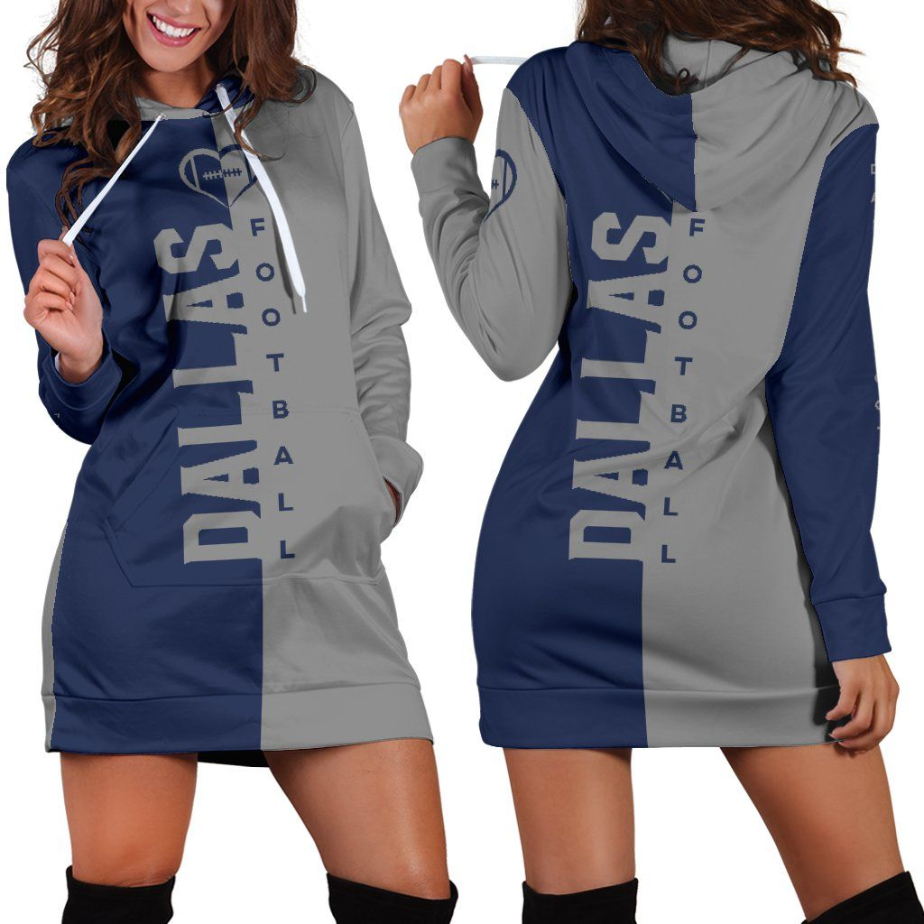 buy popular fd5e3 16ecf Dallas Football Hoodie Dress | Cowboys | Dallas cowboys gear ...