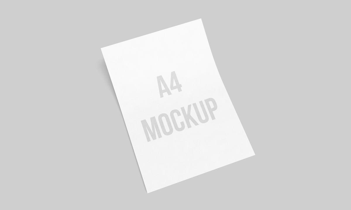 Download Free A4 Paper Letterhead Mockup PSD | PsdSuckers | #free # ...