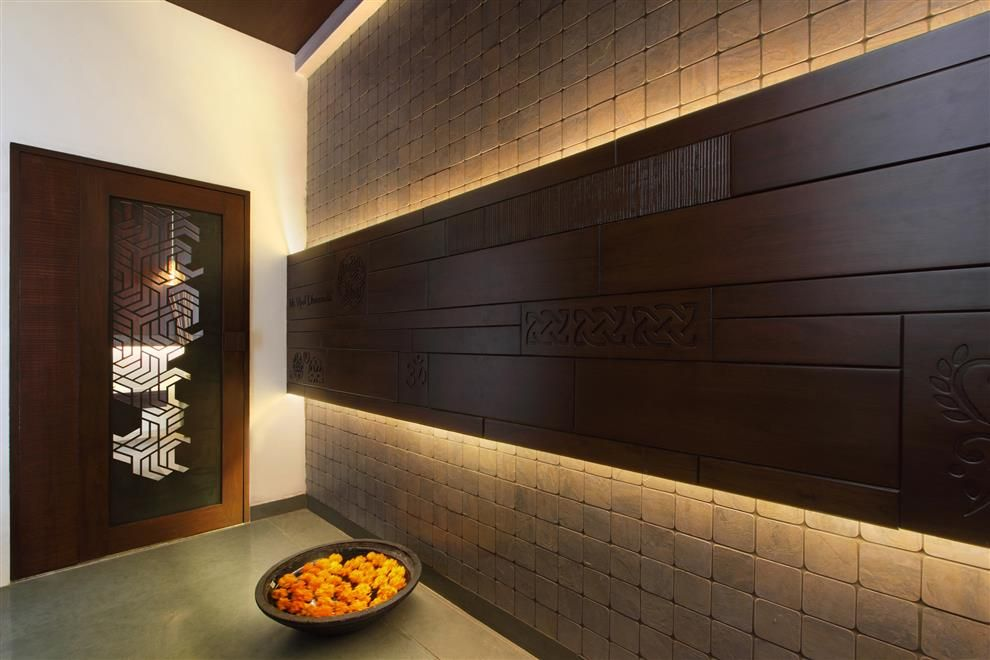 jaali partition for staircase - Google Search | Entrance ...