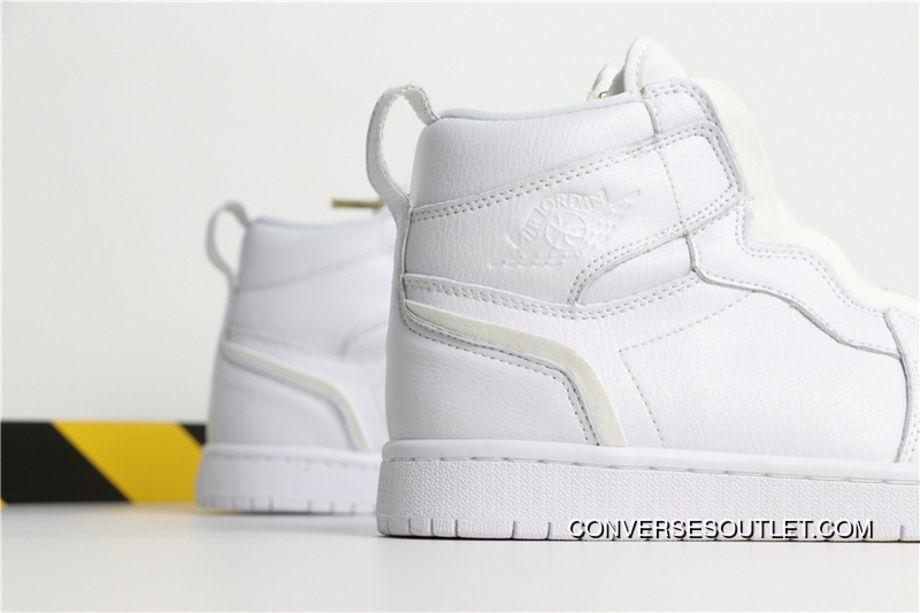328ba5962856f3 Air Jordan Aj1 AJ11 1 Air Jordan 1 Retro High Zip White AQ3742-116 1 Online
