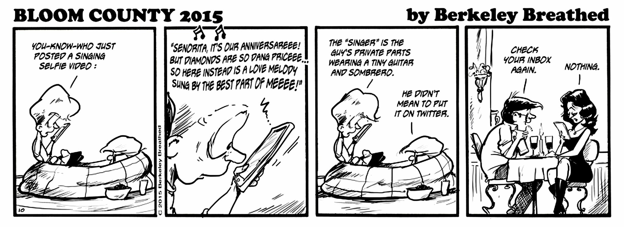 Bloom County 2015 - 07-27 - Monday