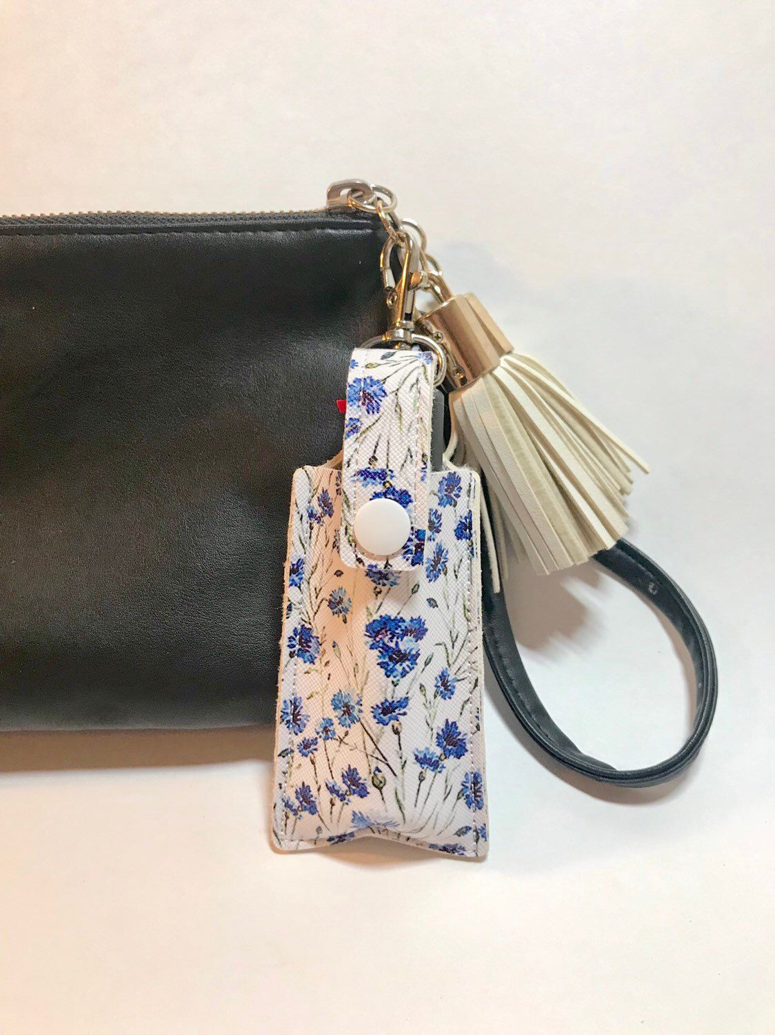 Pretty Flowers Pepper Spray Case Self Defense Keychain Pepper