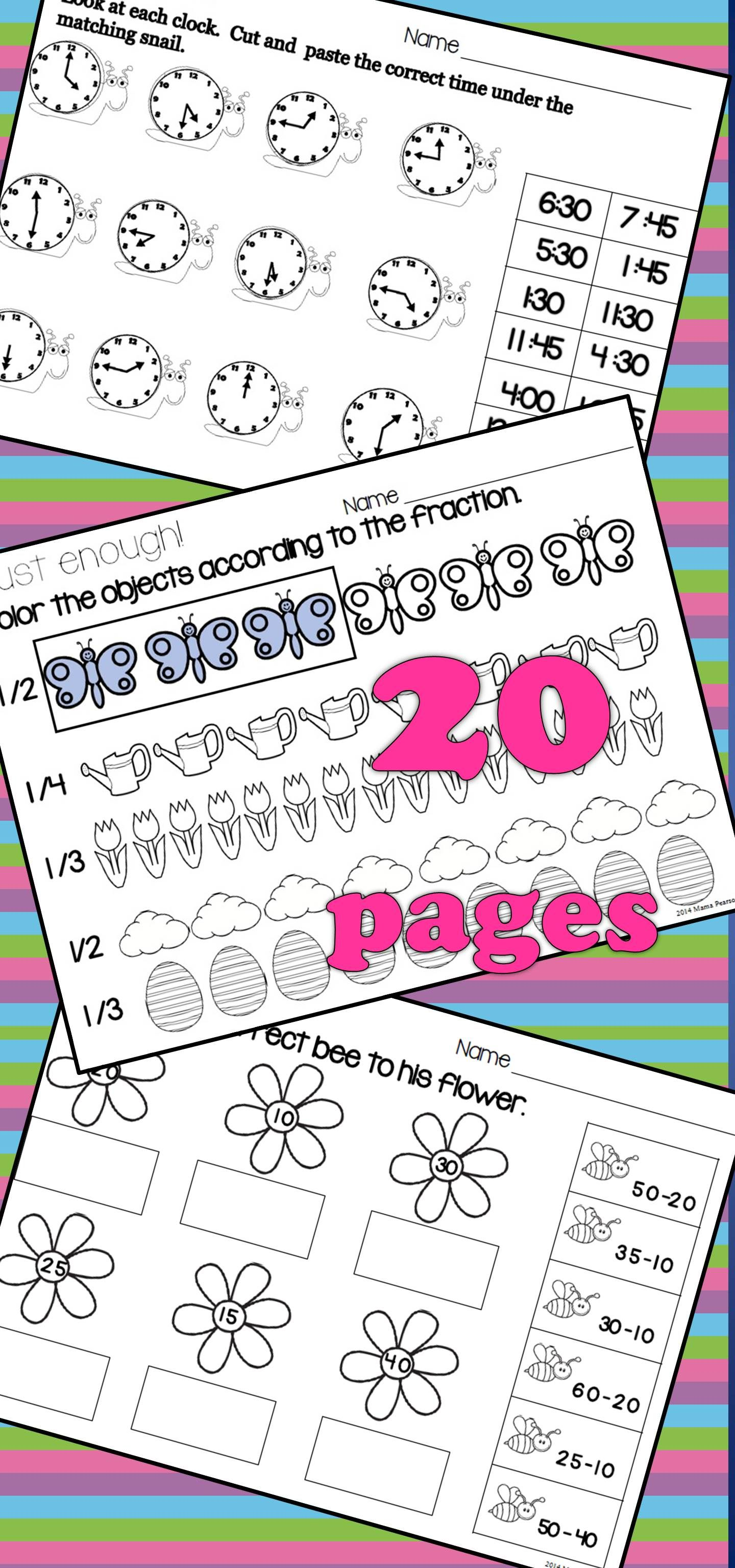 SPRING NO PREP Language Arts Printables (With images